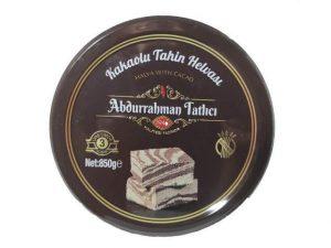 Abdurrahman Tatlıcı Kakaolu Tahin Helvası Teneke